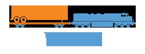trailer on flatcar - tofc