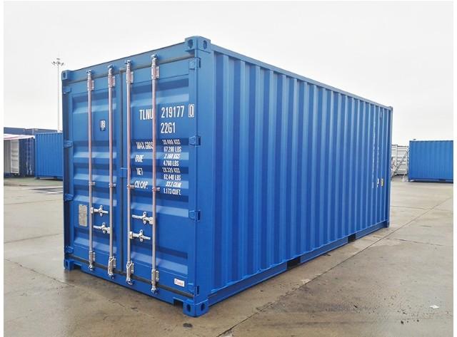 20' ISO Intermodal Container