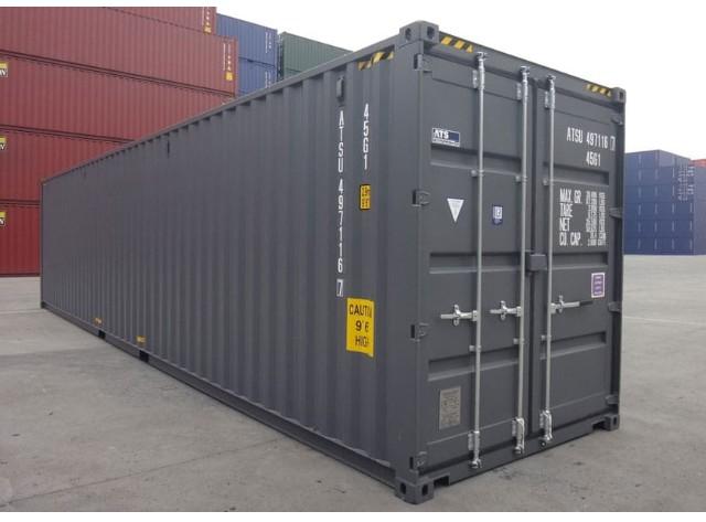 40' Hi-Cube ISO Intermodal Container