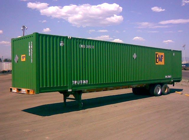 53' Domestic Intermodal Container