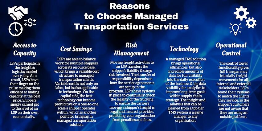 5 Reasons to chose a freight management solution with a logistics company