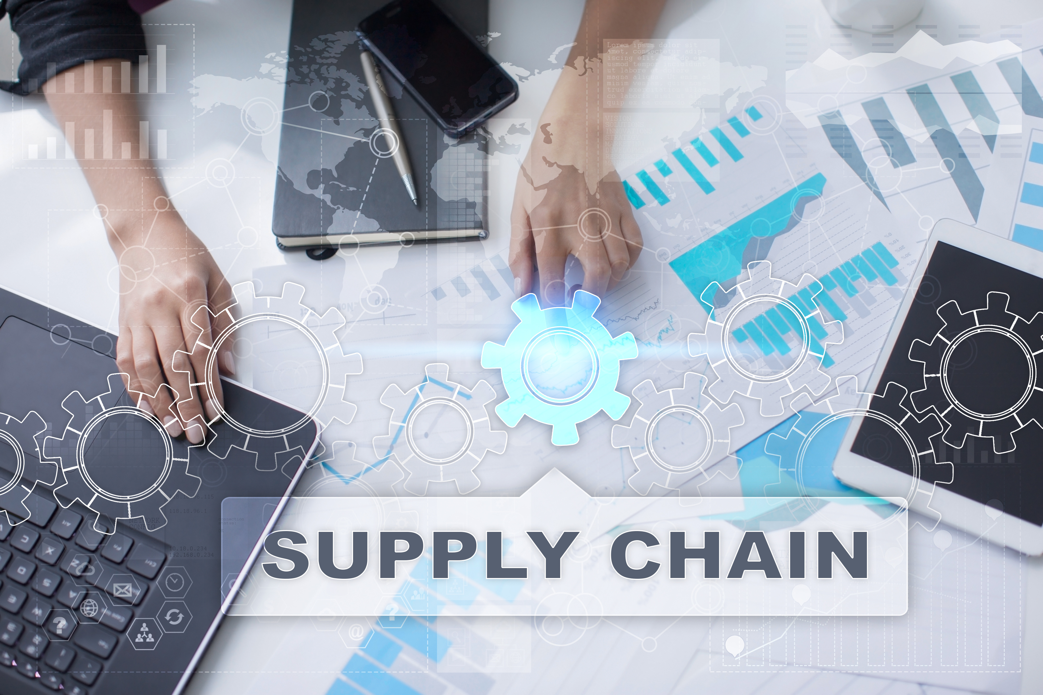 Supply chain management with freight management