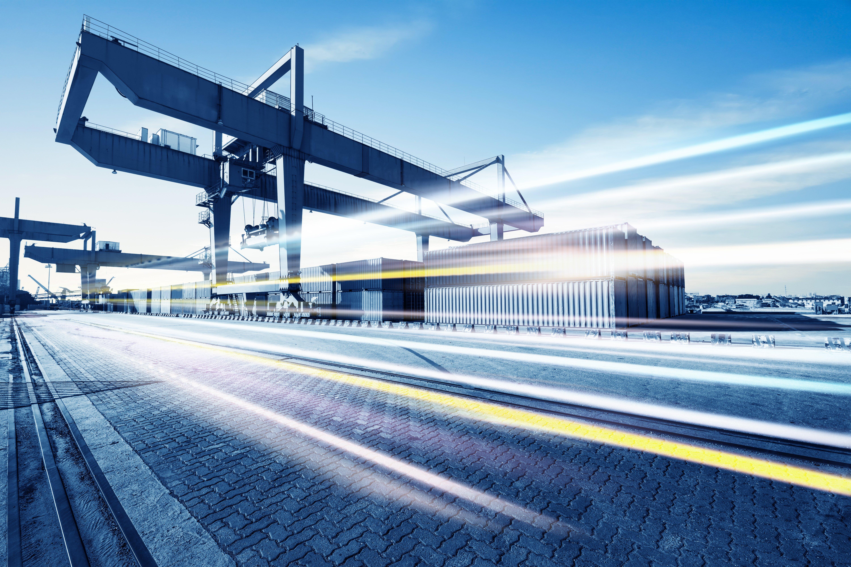 intermodal rail ramp