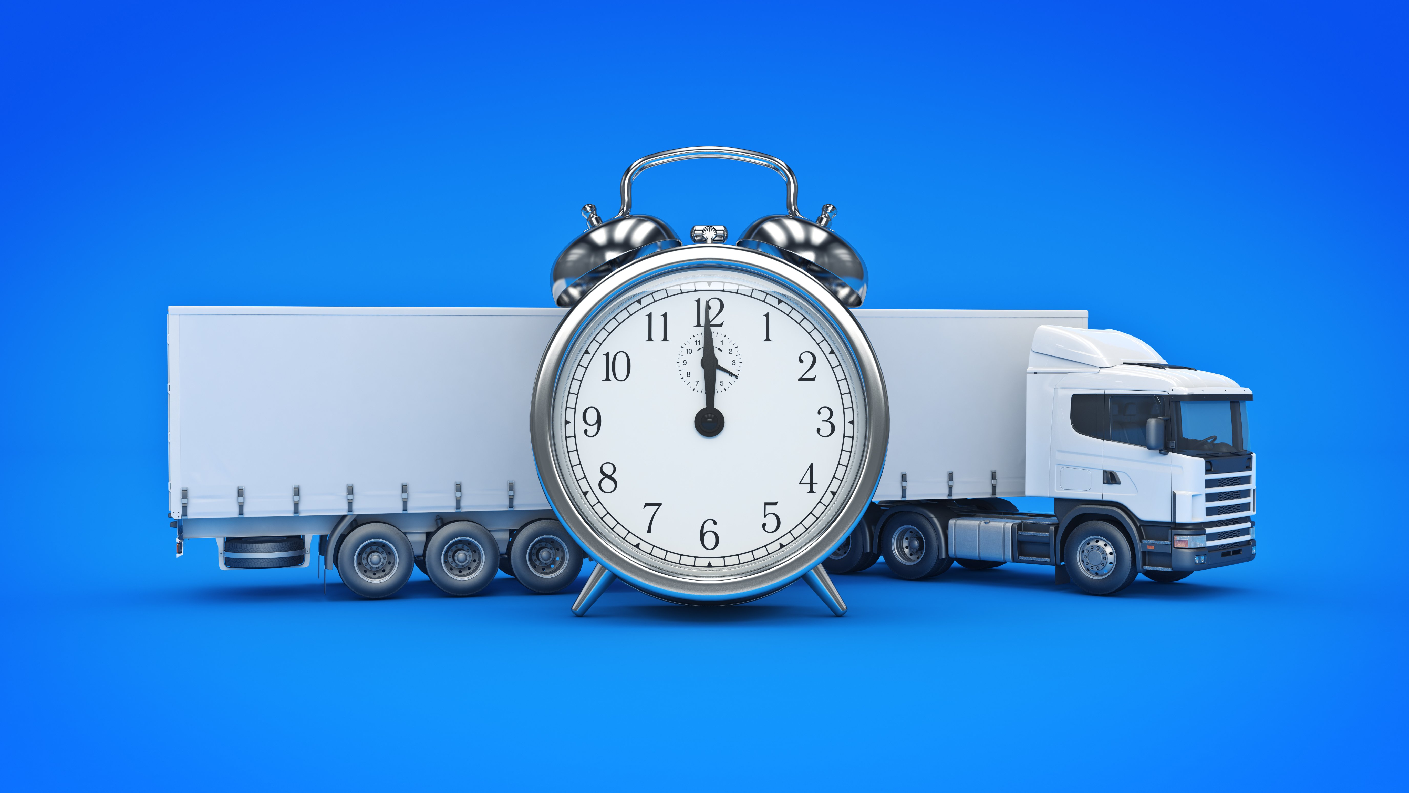 scheduled freight on-time delivery