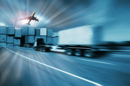 truck and air expedite freight